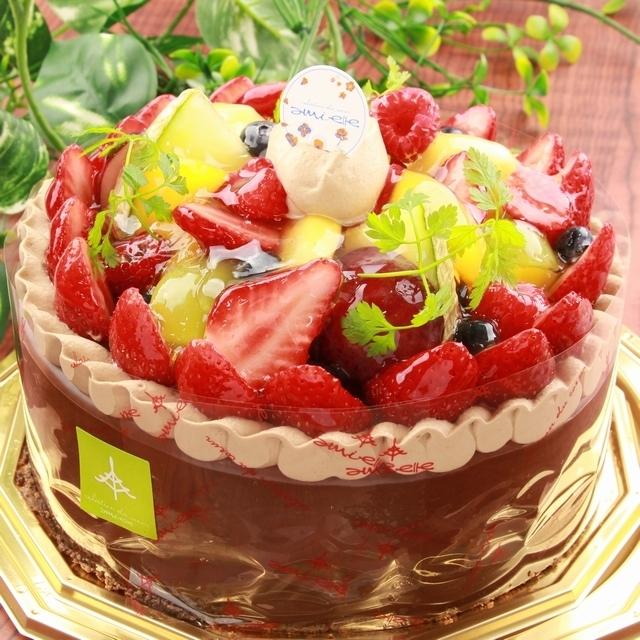 ≪スイーツガイド限定≫山盛り果実のアントルメ (ショコラ)6