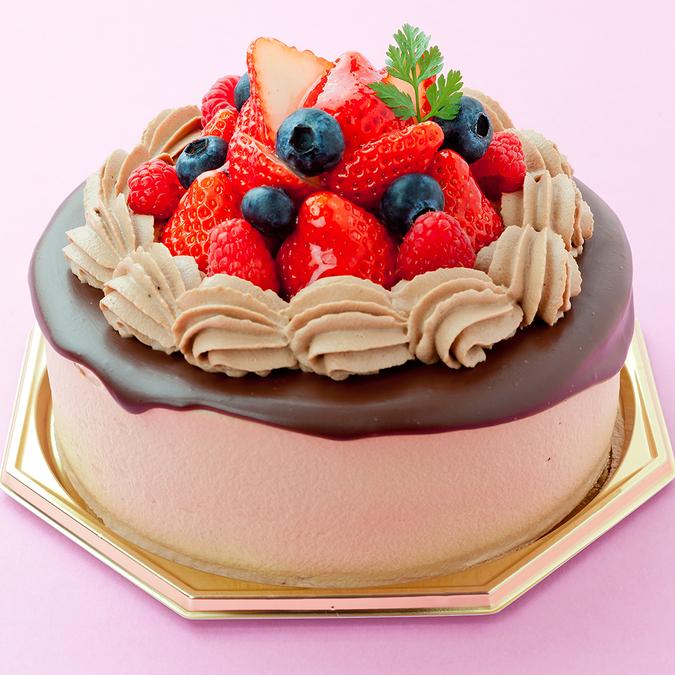 生チョコデコレーションケーキ3