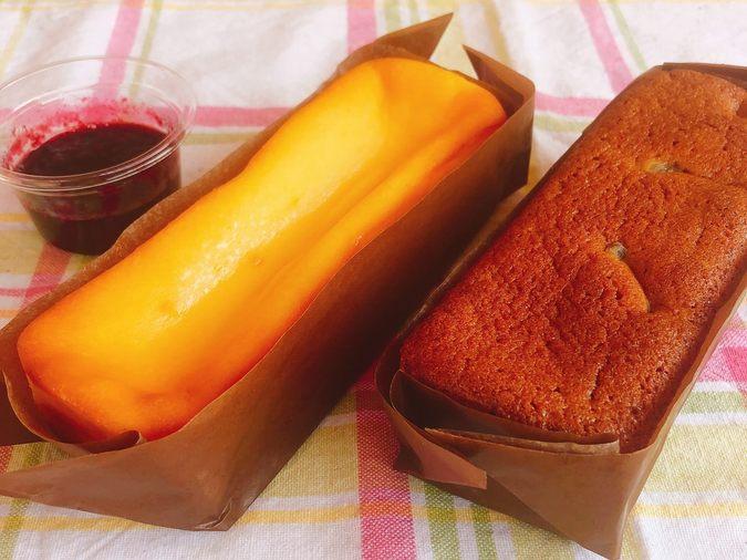 チーズケーキ(ベリーソース)&マロンケーキ (栗増量)5
