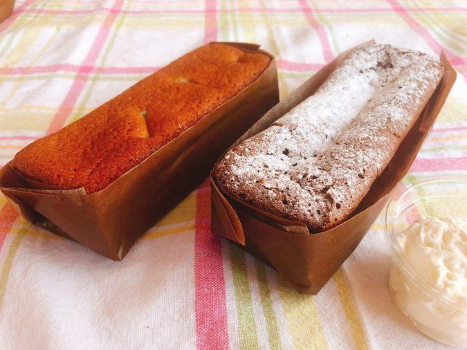 マロンケーキ (栗増量) &ガトーショコラ(ホイップクリーム付き)3