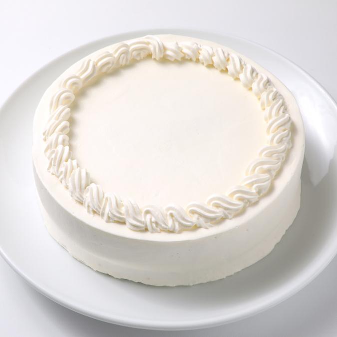 ホワイトケーキ(無地ケーキ)6