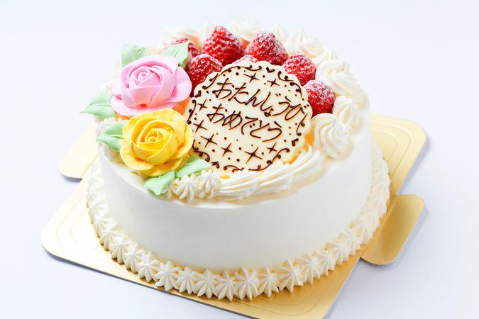 純生クリームのイチゴショートケーキ