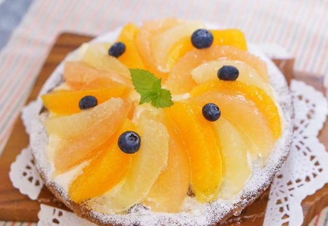 ≪夏季限定≫柑橘タルト