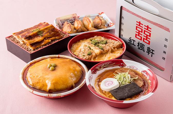 【ラーメンケーキ】駅前食堂ラーメンケーキシリーズ