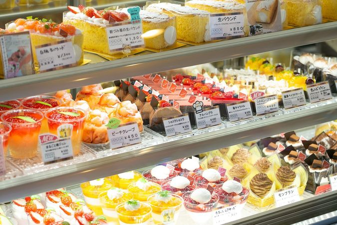 お菓子の店 モンボワ(Patisserie Mont bois)12