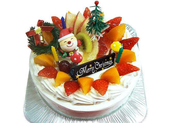 アレルギー対応クリスマスケーキ(生、豆乳クリーム)