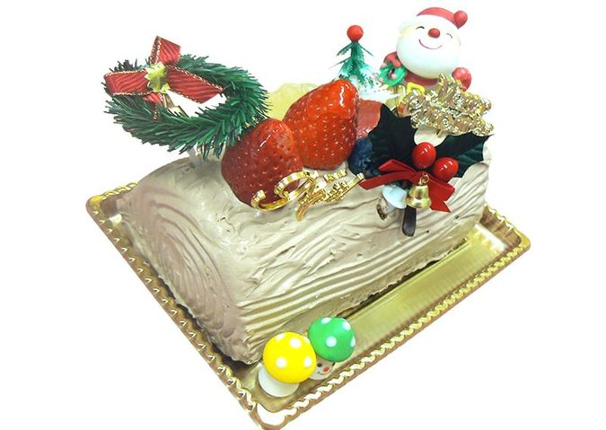 アレルギー対応クリスマスケーキ(ノエル)