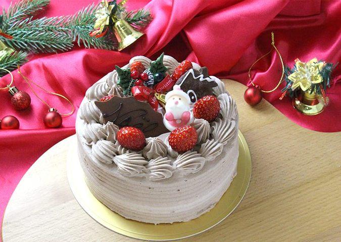 クリスマス生チョコクリームデコレーション