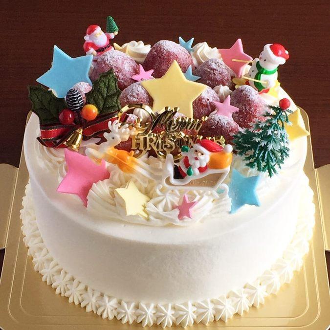 クリスマス純生クリームケーキ