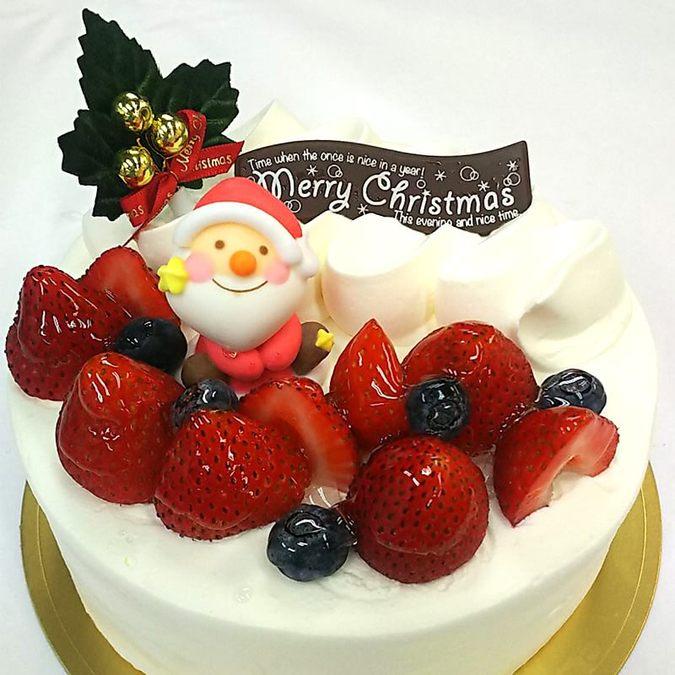 苺の生クリームケーキクリスマス