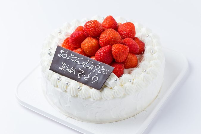 イチゴゴロゴロデコレーションケーキ