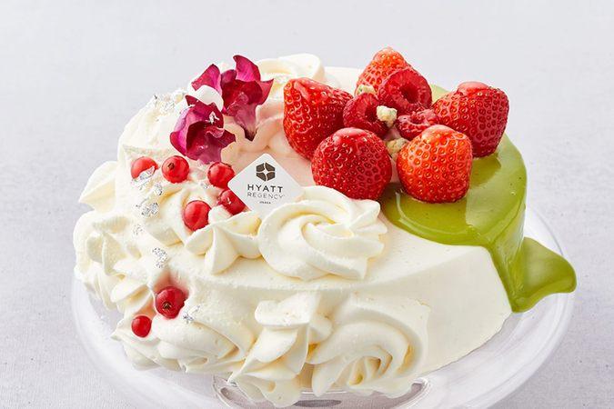 ピスタチオ ストロベリーショートケーキ