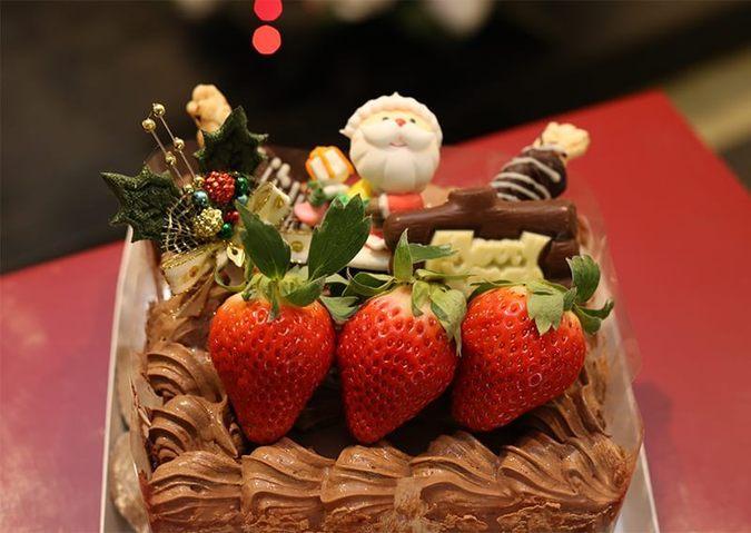 クリスマスケーキ 生チョコMIX台