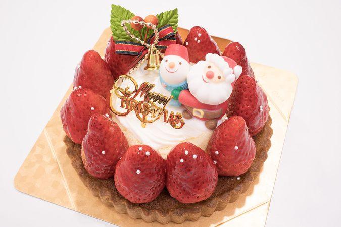 いちごいっぱいのクリスマスタルト