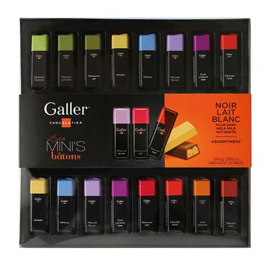 【ベルギー王室御用達】Galler(ガレー) MINI'S BARS ミニバー 24個入り(チョコレート)