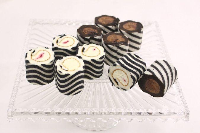 ≪バレンタイン限定≫ミニロールケーキ(10個入り)