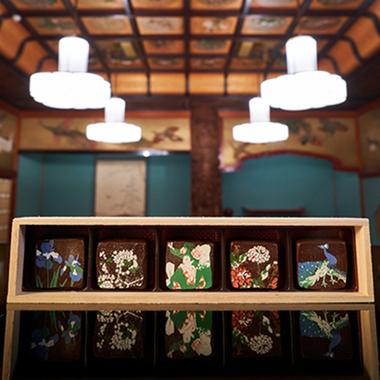 【ホテル雅叙園東京】天井画ショコラ「竹林」