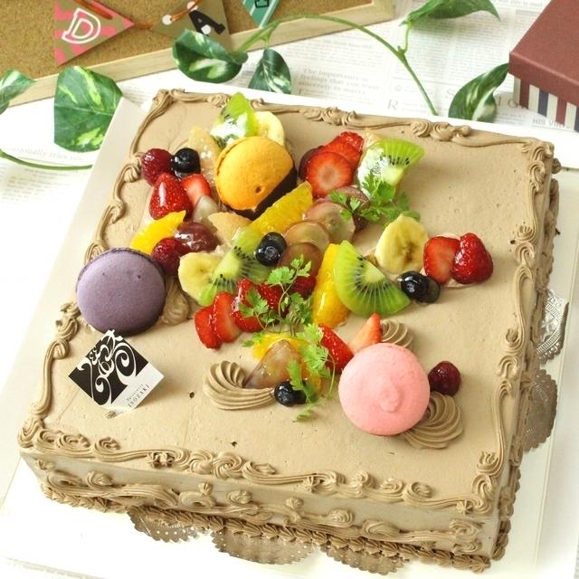 ≪スイーツガイド限定≫パーティー用ケーキ(チョコ)(12~16名様分)