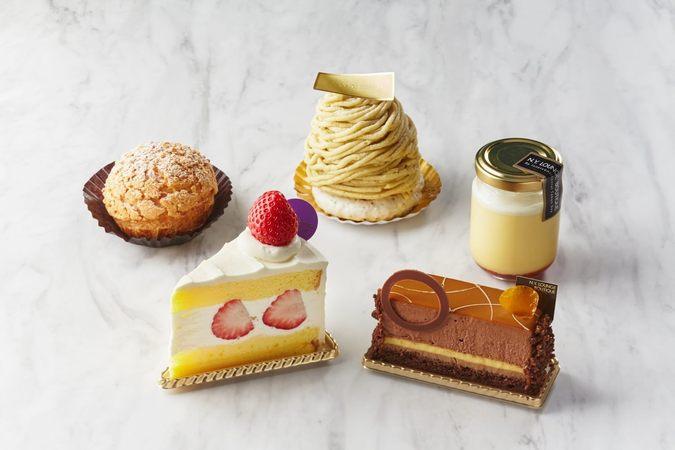 カットケーキ5種