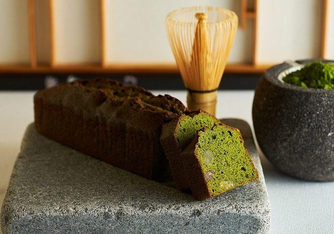 東京抹茶とかのこ豆のパウンドケーキ 20cm