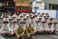 京都新聞写真コンテスト 出発前の緊張