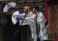 京都新聞写真コンテスト 一生懸命の音頭取り