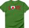 LOVE japan heart flag red