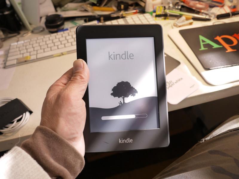 Kindleが届いた