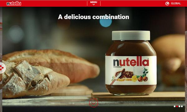 nutella公式ホームページ
