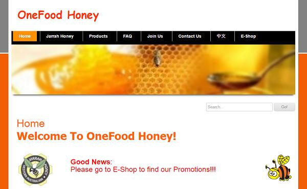 OneFood_Honey公式ホームページ
