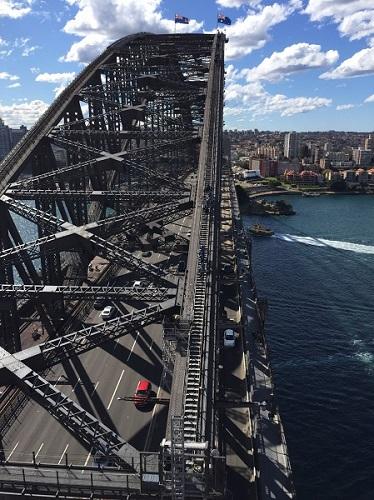 シドニーハーバーブリッジパイロンルックアウトからの眺め20160823_379