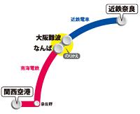 奈良アクセスきっぷMAP
