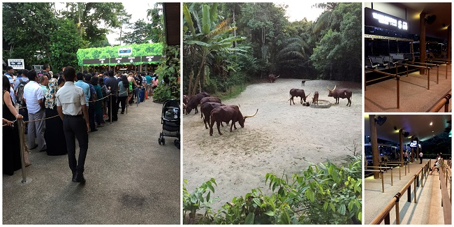 Singapore Zoo Night Safari entrance 2016-10-08
