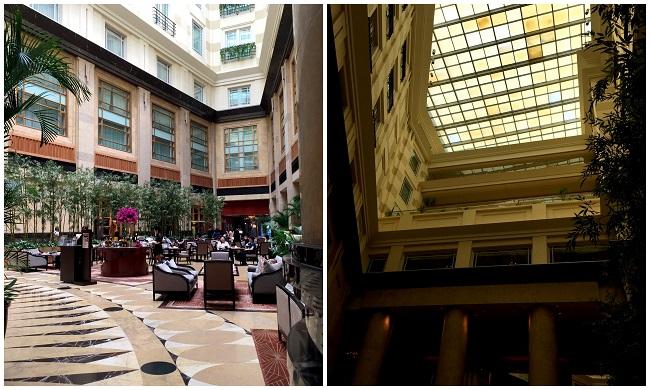 Singapore Fullerton Bay Hotel Courtyard 02 2016-10-09