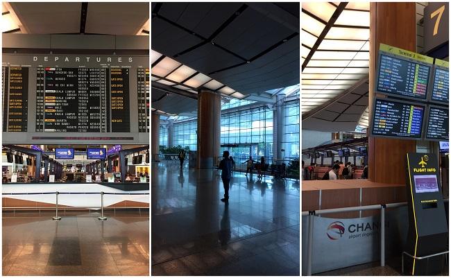 Changi Airport Departures 2016-10-10