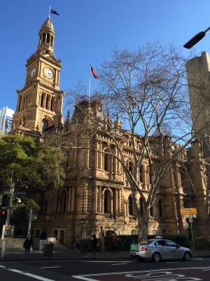 オーストラリア シドニー タウンホール 現役市庁舎