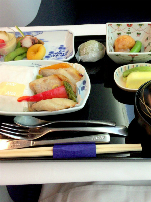 ANA 全日空 787 NH880 ビジネスクラス シドニー 羽田便