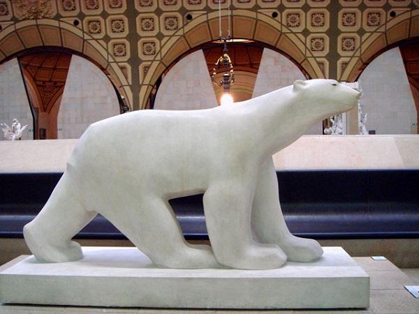 パリ オルセー美術館 フランソワ・ポンポン 白熊 ホッキョクグマ