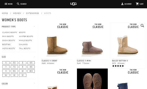 アグ公式ホームページ UGGCOM