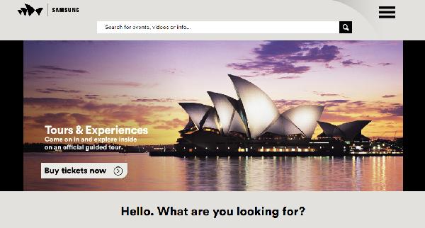 opera house オーストラリア シドニー オペラハウスの公式ホームページ