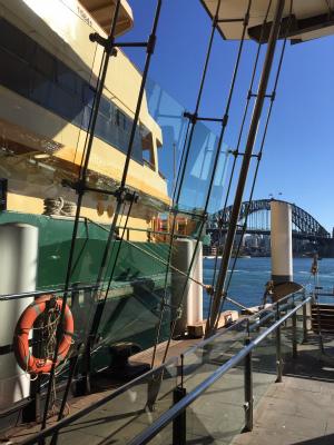 オーストラリア シドニー サーキュラーキー ハーバーブリッジ フェリー