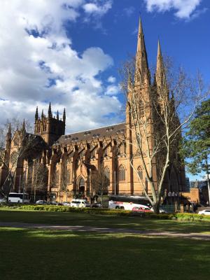 オーストラリア シドニー セント・メアリー大聖堂 セント・メアリーズ大聖堂 st Mary's Cathedral セント・メリー大聖堂