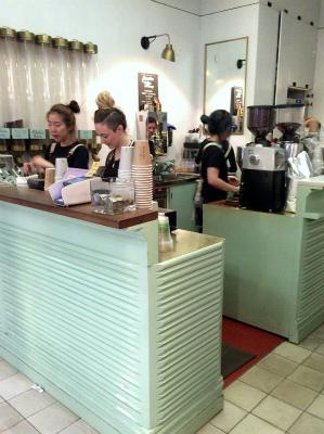 オーストラリア シドニー ストランド・アーケード 有名 カフェ ガンプション
