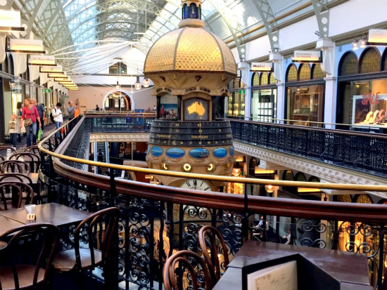 QVB クイーン・ビクトリア・ビルディング The Queen Victoria Building グレート・オーストラリアン・クロック