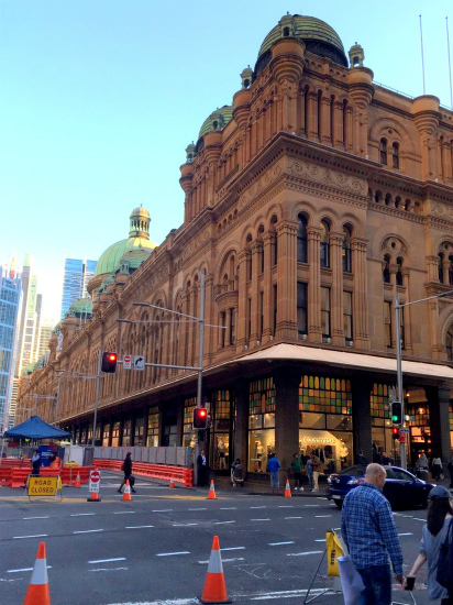 QVB クイーン・ビクトリア・ビルディング The Queen Victoria Building 外観