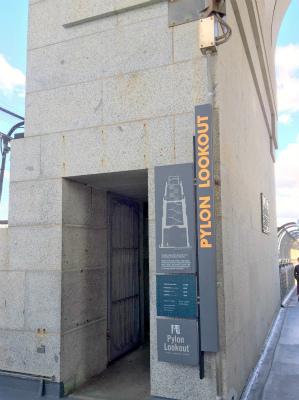 オーストラリア シドニー パイロン・ルックアウト 入口