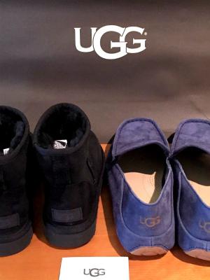 アグUGG クラシックミニⅡ メンズ ヘンリー 2016 ugg classic Mini II と Hunley