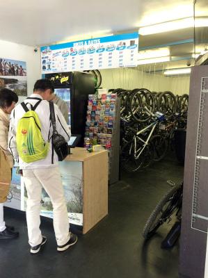 オーストラリア シドニー マンリー 自転車レンタルのお店 レンタサイクル マンリー・バイクツアーズ Manly Bike Tours