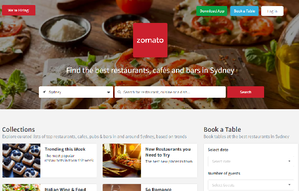 zomato 海外グルメ検索 レストラン検索 アプリ ゾマト 公式ホームページ