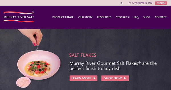 MURRAY RIVER GOURMET SALT FLAKES HP
